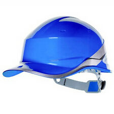 Blue Deltaplus venitex Construction Ratchet Hard Hat / Safety Helmet Diamond