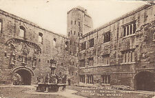 Quadrangle Old Gateway LINLITHGOW Palace West Lothian Scotland 1923 Valentine PC