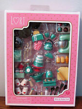 Lori Doll Baking Miniature Furniture Mix & Bake Set Kitchen food Accessories 6""