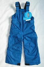 Columbia Toddler Boys Size 4T Snowslope II Bibs Marine Blue Snow Pants Winter