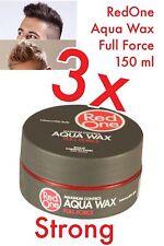 RedOne AQUA WAX FULL FORCE Gelwax grau 3 x 150 ml