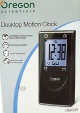 OREGON RM968 SENSORE MOVIMENTO OROLOGIO TERMOMETRO SVEGLIA CALENDARIO LCD 4 COLO