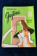 Gaytone Seamless Nylon Stockings Tahiti Size 9 Vintage Hosery Original UNOPENED