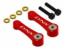 Lynx Blade 450 X Red CNC Swash Follower Arm Set LX1189
