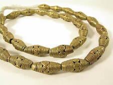 Bel filamento OTTONE PERLE sp1 gelbguß Ghana Brass Beads Ashanti Akan afrozip