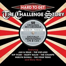 Hard To Get-Challenge Story 2-CD NEW SEALED Jan & Dean/Champs/Marty Balin/Fleas+