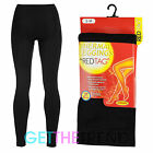 Womens Thick Thermal Leggings Ladies Black Thermal Winter Warm Fleece Lined
