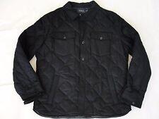 NWT $395 Polo Ralph Lauren Men's Hewitt Black Quilted Down Jacket Coat Sz XL