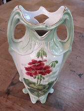 Vase en barbotine Luneville Keller & Guerin style art nouveau old french antique
