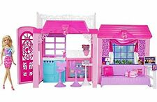 BARBIE GLAM VACATION HOUSE  WITH DOLL - BNIB