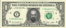 Walter White / Heisenberg *Breaking Bad* Dollar Bill - REAL, Spendable Money!
