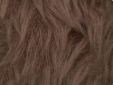 Camel Plain Faux Fur Fabric Short Hair 150cm Wide SOLD BY THE METRE