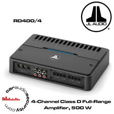 JL Audio RD400/4 - 4-Channel Class D Full-Range Amplifier 400W RD Amp New