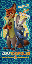 Official Licensed  Zootropolis Zootopia Cotton Beach Towel Kids New