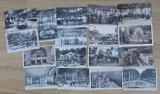 LOT de 17 anciennes Cartes postales de VICHY département de l'Allier (03)