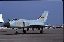 Original colour slide F-8II Finback 21102 of 9th Div. PLAAF