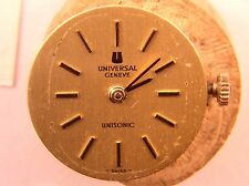 Ladies Universal Geneve13J Ultrasonic Watch Movement Cal. 47 Runs