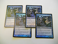 4x MTG FOIL Merfolk Seastalkers-Tritoni Furtivi Magic EDH ZEN Zendikar ITA-ING