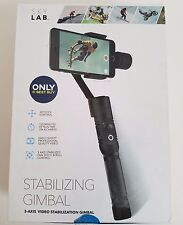 SkyLab 3-Axis Gimbal Stabilizer for Mobile Phones with Pan Pitch & Roll Control