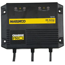 Marinco On-Board Marine Boat Battery Charger - 20A - 2 Bank - 120V 230V 28220