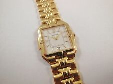 Lassale by Seiko Gold Tone Stainless Steel 7N39-5A10 Sample Watch NON-WORKING