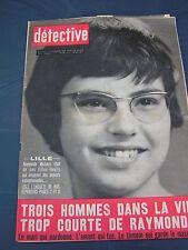 Détective 1965 1011 PORTBAIL RE NAIX BREST LA GUERCHE BAGNOLS EN  FORET LILLE MA
