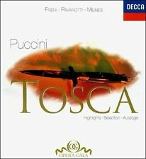 Puccini: Tosca Highlights) / Freni, Pavarotti