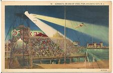 Acrobats on the Steel Pier in Atlantic City NJ Postcard 1939