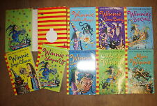 8 WINNIE THE WITCH BOOKS by LAURA OWEN & KORKY PAUL * UK POST £3.25* PAPERBACK*