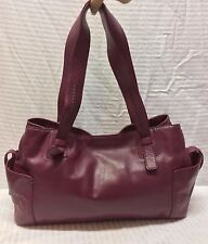 Sigrid Olsen Purple Leather Purse Bag Shoulder Bag