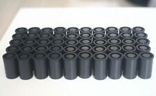 102PCS Empty black bottle 35mm film cans canisters containers