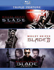 Blade / Blade 2 / Blade: Trinity - 3 DISC SET (2015, Blu-ray New)