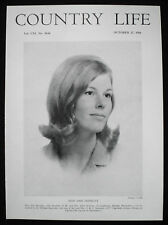 ANN MOSELEY DAUGHTER DR JOHN LEIGHWAYS HAVANT WILLIAM SEYMOUR PHOTO ARTICLE 1966