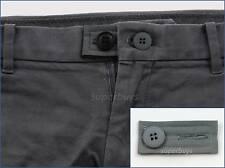 Grey Extender & Button Pants Shorts Skirt Jeans Trouser Waist Line Widen Expand