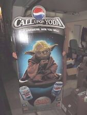 Star Wars Call Upon Yoda Diet Pepsi Store Display Cardboard