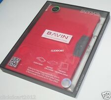 Bavin Premium Smart Cover Leather Case With Screen Protector For Apple iPad Air