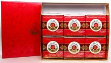 Roger & Gallet Jean Marie Farina Extra Vieille 6 SOAP Set.Unisex .Brand new.
