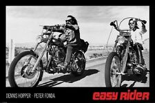 EASY RIDER Laminated POSTER Movie Dennis Hopper Peter Fonda NEW LICENSED