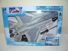 New Ray F-15 Eagle Fighter Jet Plastic Model Unassembled 1:72 Scale Grey 2 Tone