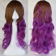 15%off Halloween Anime Cosplay Wigs Curly Straight Synthetic Hair Costume Wig hs