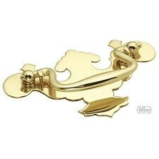 Keeler K14 SOLID BRASS Chippendale Bail Pull Drawer Handle Polished Brass