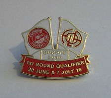 ABERDEEN FC VS CS FOLA ESCH BADGE