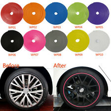 Car Vehicle Wheel Rims Protector x1 For Dodge Challenger Charger Coronet Red