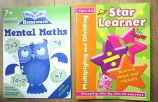 Year 3 Maths Bundle Activity Books Children age 7 8 Home Learning Educational BN