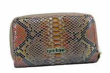 Brown Snakeskin Wallet Portafoglio Serpente Portefeuille Serpent Portemonnaie M
