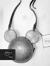 DISNEY MICKEY MOUSE SPARKLE GOING OUT Novelty Retro Handbag Fashion Bag XMAS