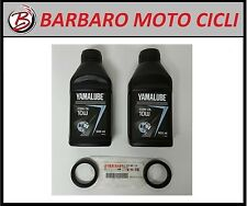 KIT PARAOLI FORCELLA + OLIO ORIGINALE 10W YAMAHA MT-03 660 2006-2010 FORK SEALS