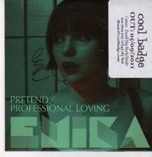 (CG147) Emika, Pretend / Professional Loving - 2011 DJ CD