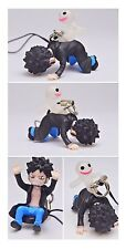 One Piece Mascot Swing PVC Negative Horo Keychain Figure ~ Trafalgar Law @92195