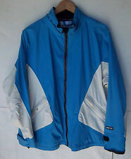 Women's Road Runner Sports Blue Wind Stopper Running Jacket -- Size Med